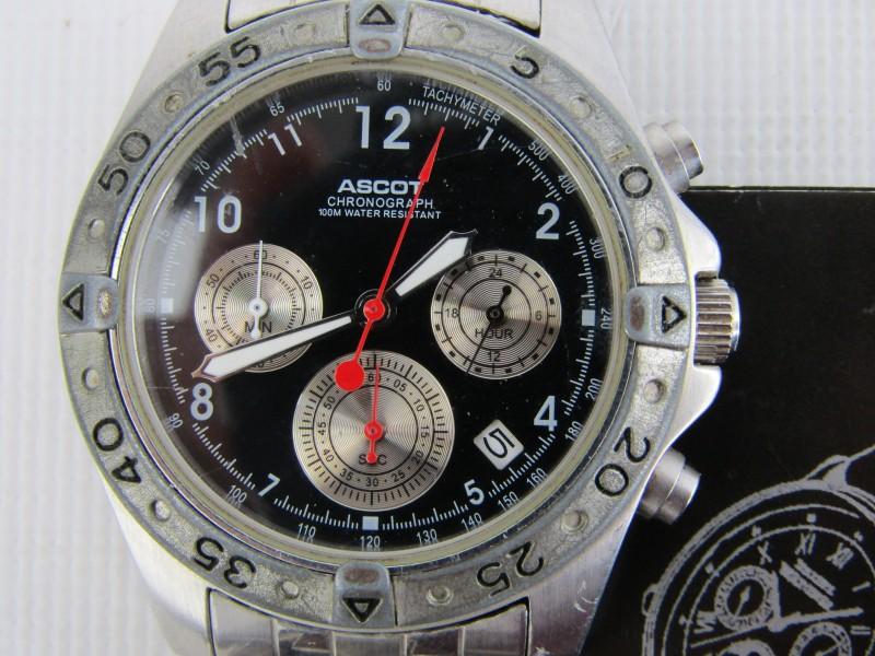 Design Horloge: Ascot Chronograaf