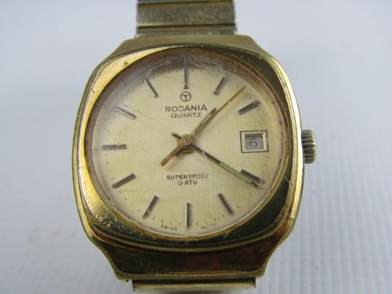 Retro Horloge: Rodania