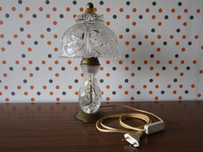 Werkende Tafellamp: Kristal