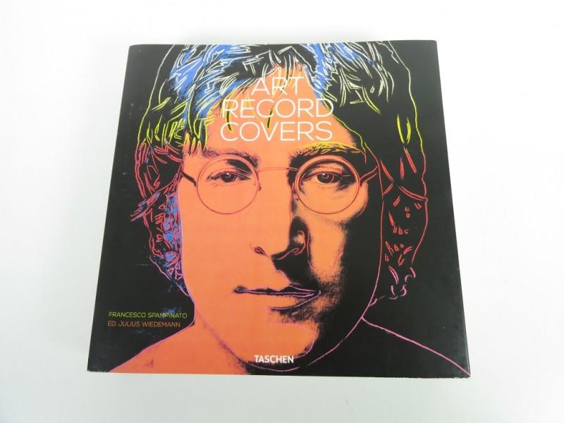 Boek - Taschen - Art cover records