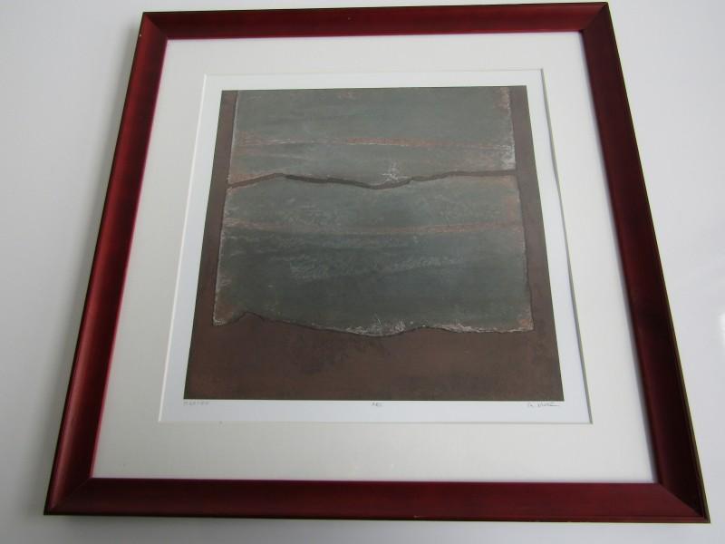 Gesigneerde Litho: ARC van de Belgische Kunstenaar: André Navez
