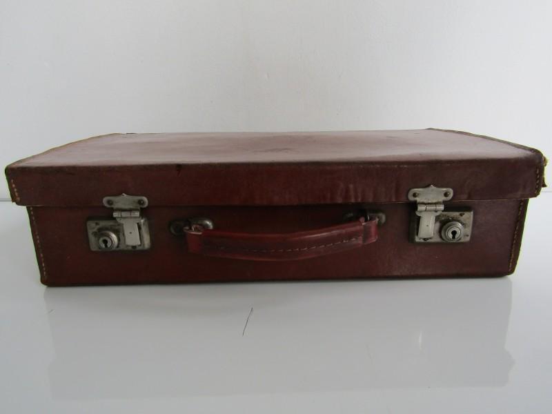 Retro Lederen Koffer