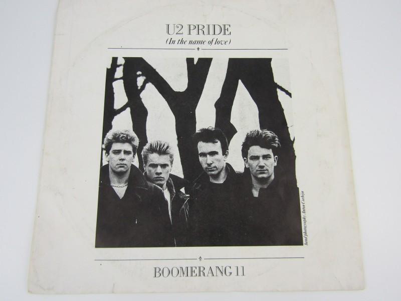 Single, U2: Pride (In The Name Of Love), 1984