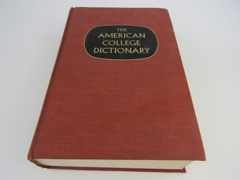 Oude Woordenboek: The American College Dictionary, 1966