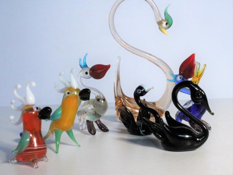 18 Glazen Figurines