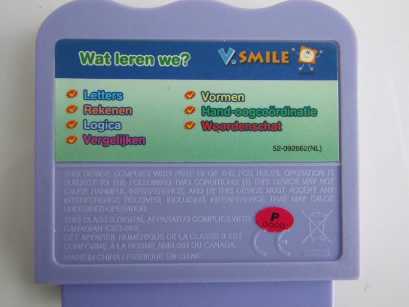 4 x Vtech Educatieve Spelletjes, V.Smile