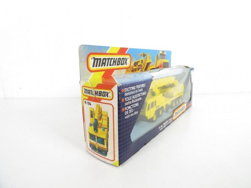 Matchbox K-114 Greu Mobile Crane