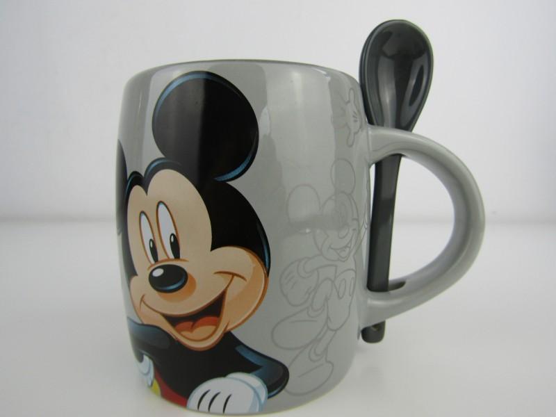 Grote Tas met Lepeltje: Mickey Mouse, Produit Exclusif, Disneyland Paris