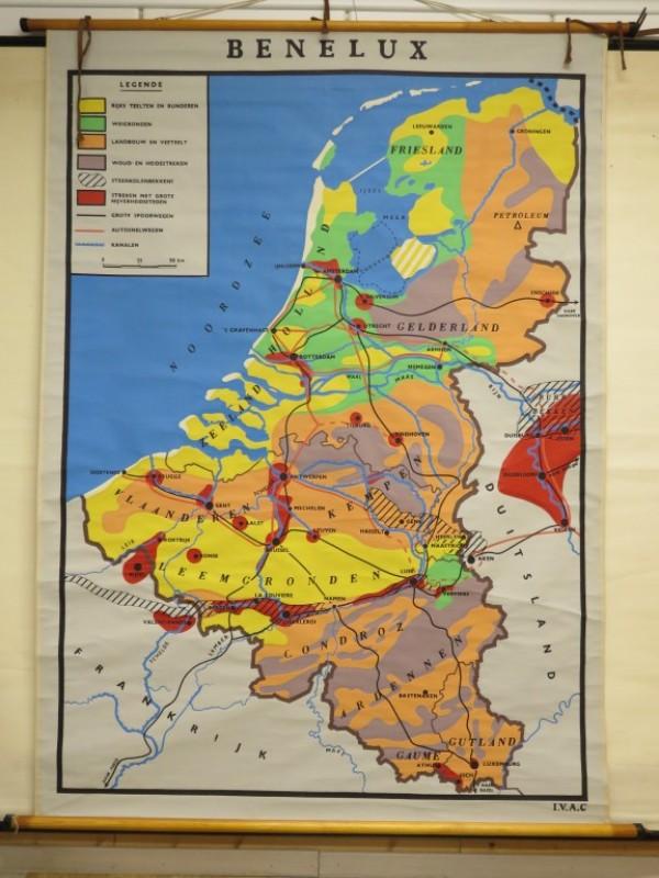 Schoolkaart - Benelux