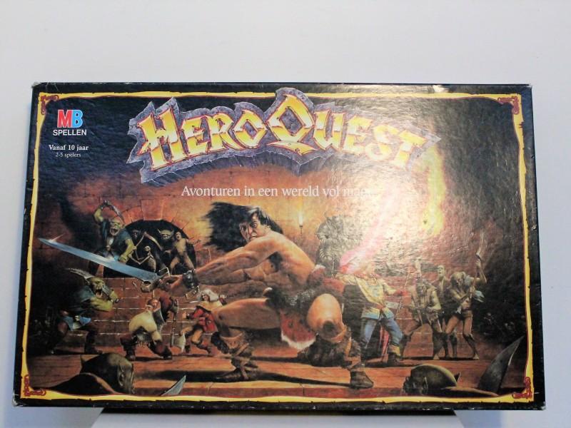 Fantasy Bordspel: HeroQuest 1989