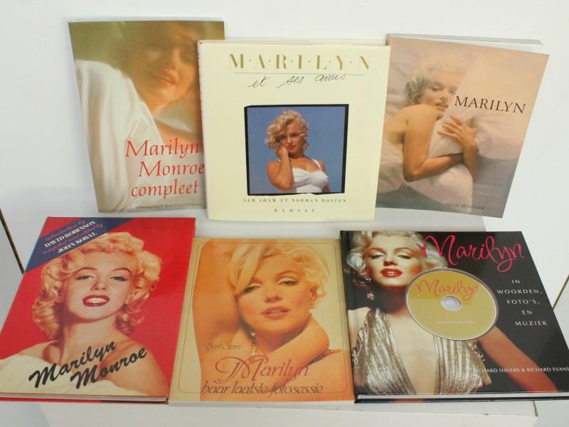 6 Boeken: Marilyn Monroe