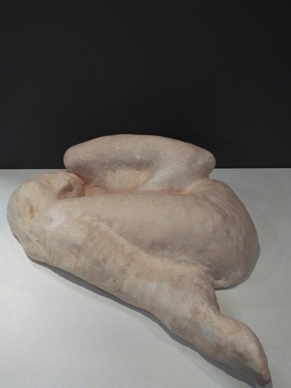 Terracotta kunstwerk/sculpture van Bruno Torfs,