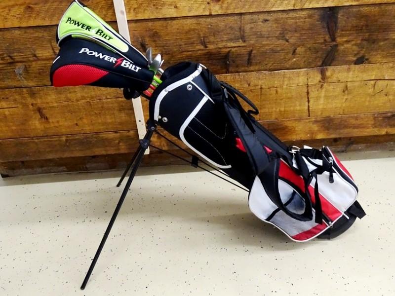 Powerbilt junior flex golfset