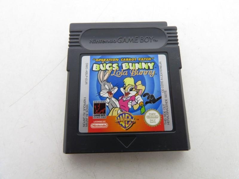 Game boy - Bugs Bunny-lola bunny