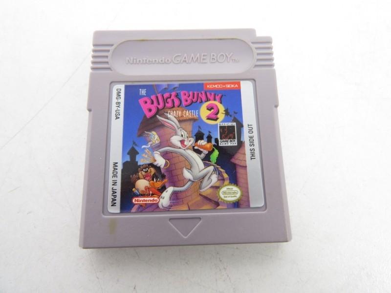 Game boy - Bugs bunny 2-crazy castle