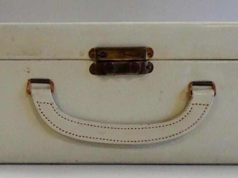 Vintage juwelenkoffertje