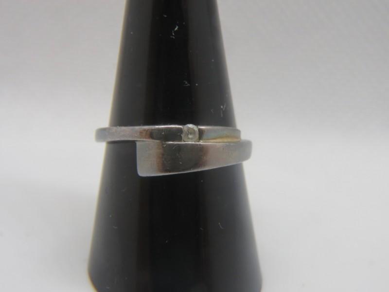 Zilveren ring 925 (3)