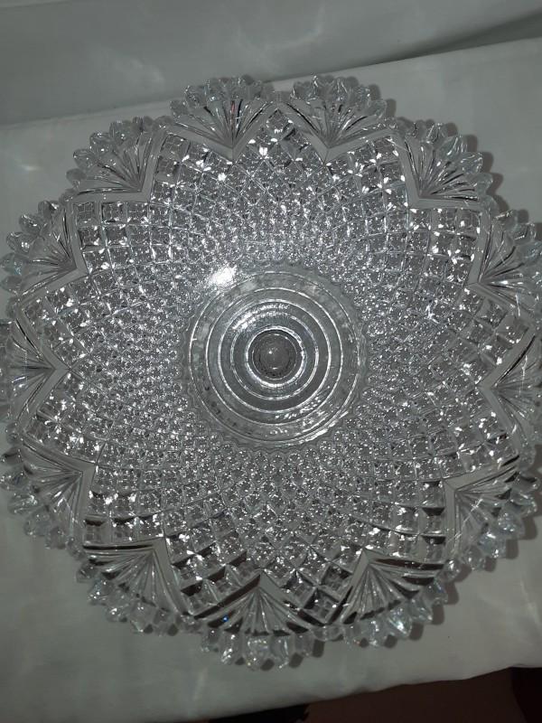 Kristallen fruitschaal - Val ST Lambert