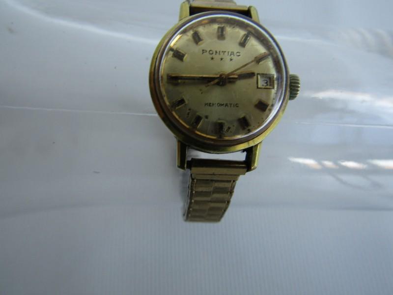 Vintage Horloge: Pontiac, 3 Star, Memomatic