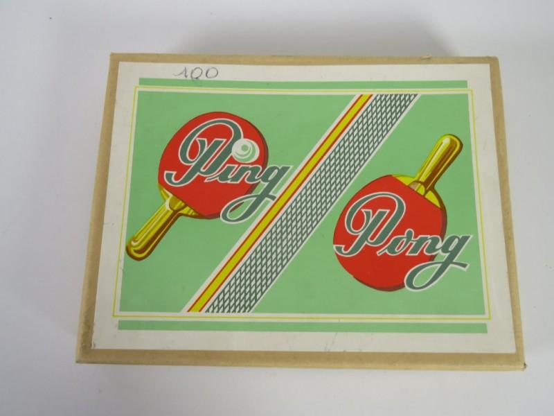 Vintage ping pong setje
