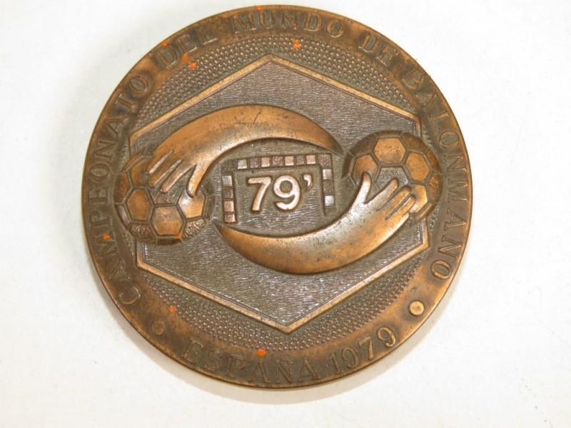 Medaille - Spaanse handbal federatie - 1979