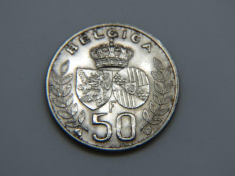 Muntstuk 50 frank 1960
