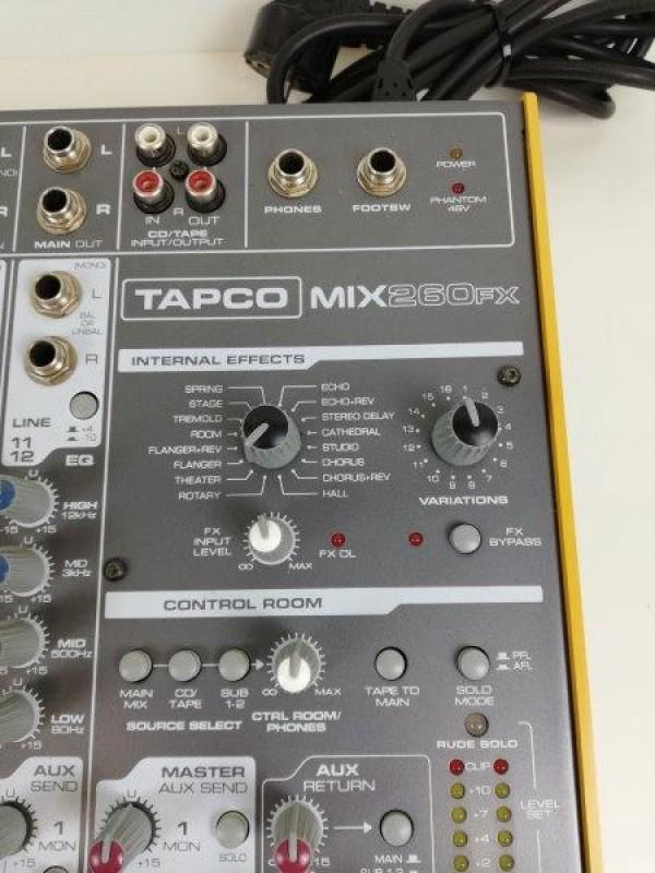 Tapco mix 260 fx