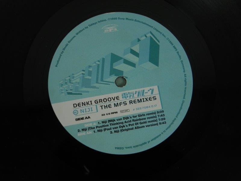 """Denki Groove – Niji (The MFS Remixes) (LP"""")"""