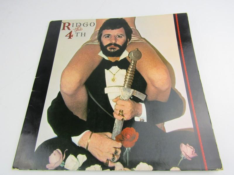LP, Ringo Starr: Ringo The 4Th, 1977