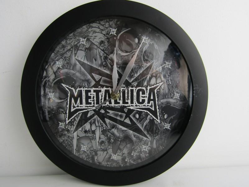 Werkende Klok: Metallica, Pushead