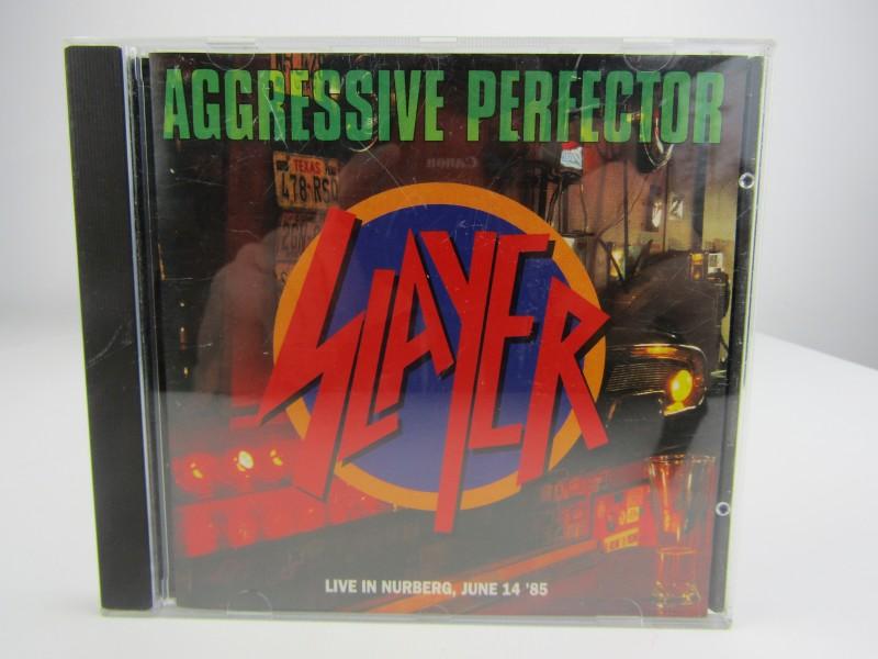 CD, Slayer: Aggressive Perfector, 1991