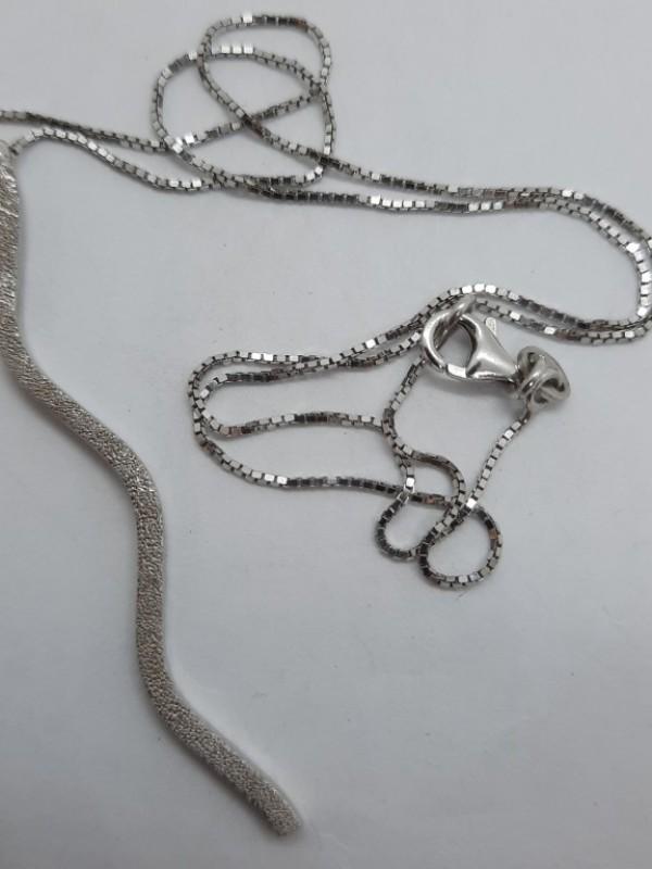 Zilveren halsketting met hanger 925