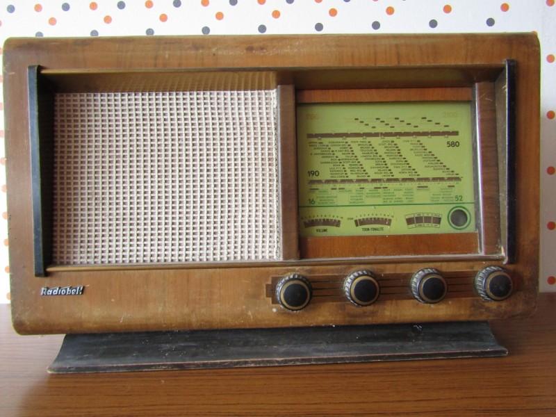 Oude Philips Radio: Radiobell 46, 1938