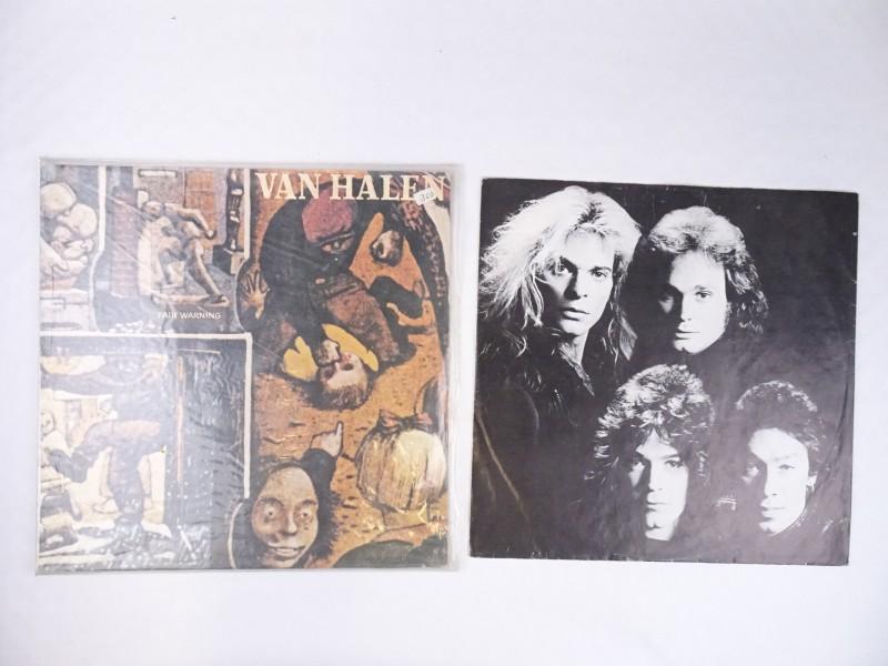Vinyl album Van Halen Fair Warning.
