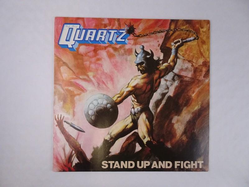Vinyl album. Quartz, Stand up and fight.