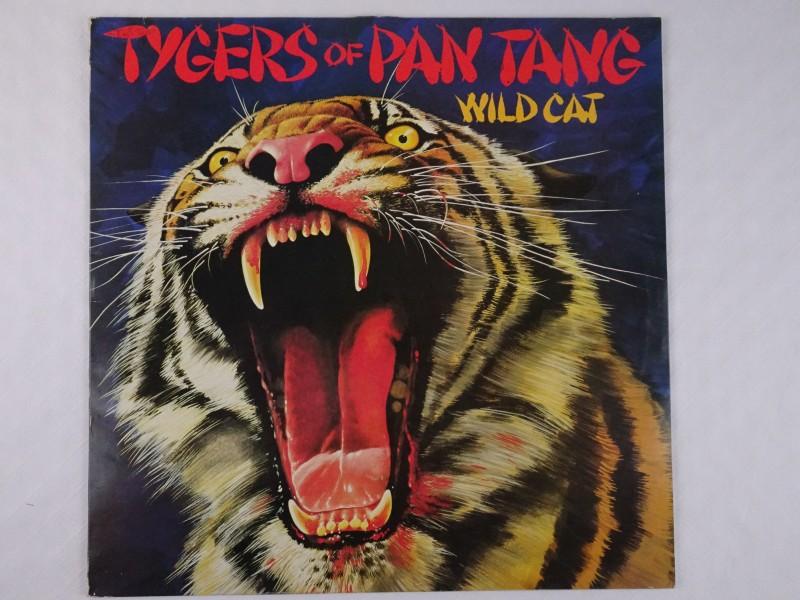 Vinyl album Tygers of Pan Tang: Wild Cat