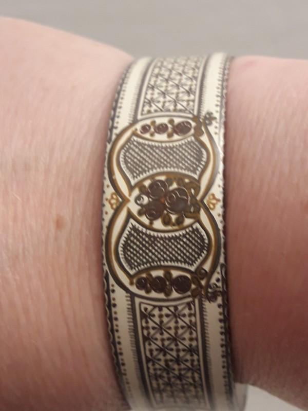 Vintage lot - armband en ring , Michaela Frey- Austria