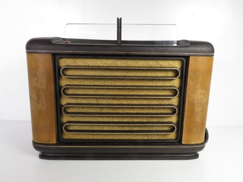 Bakelieten Philips radio