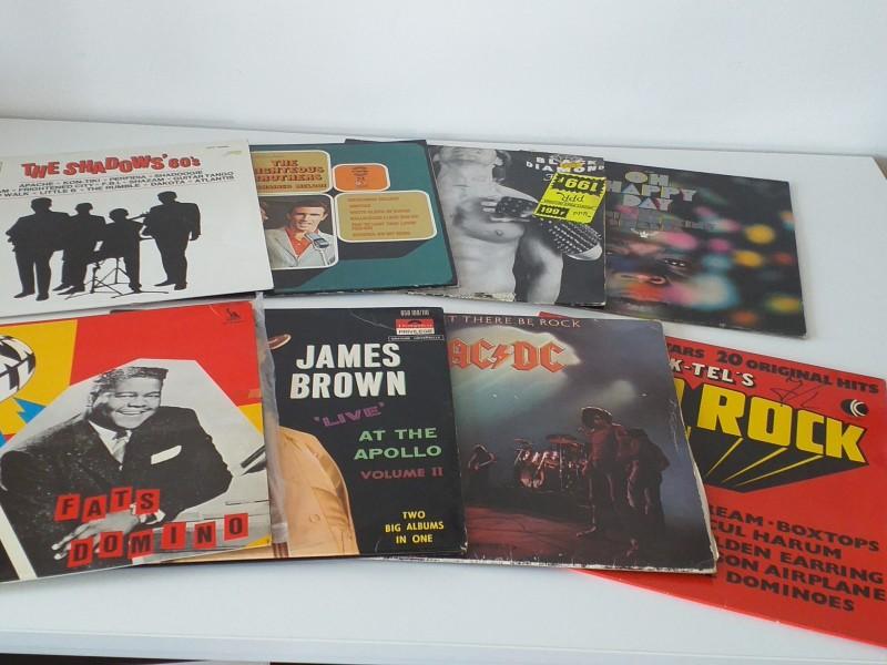 Lot van 35 LP's