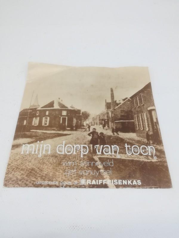 Split EP, Zjef Van Uytsel - Wim Sonneveld: Mijn Dorp Van Toen, 1978