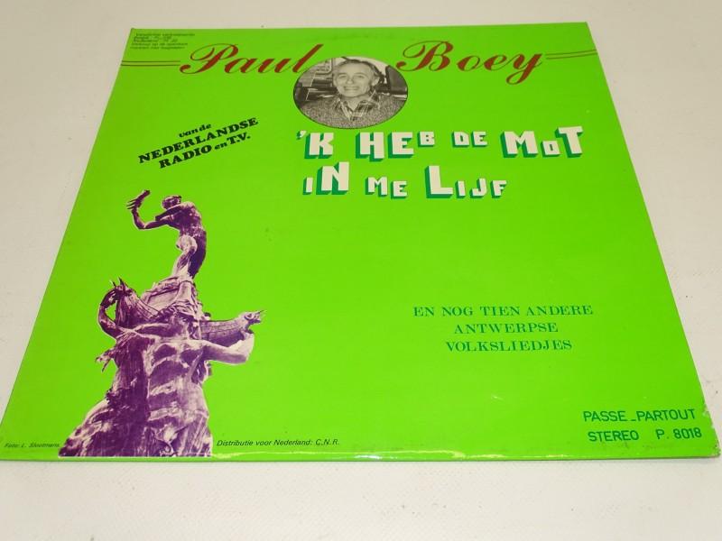 LP, Paul Boey: 'k Heb De Mot In Me Lijf, 1979