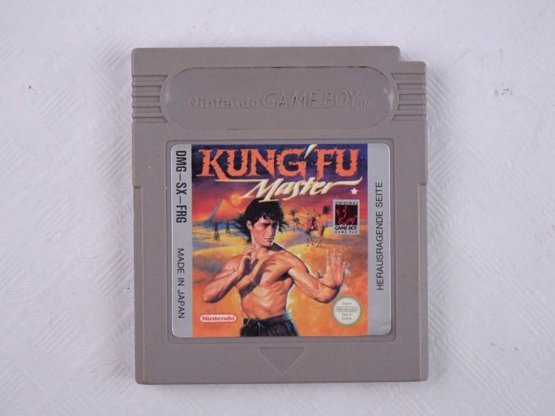 Nintendo Game Boy spel Kung Fu Master.