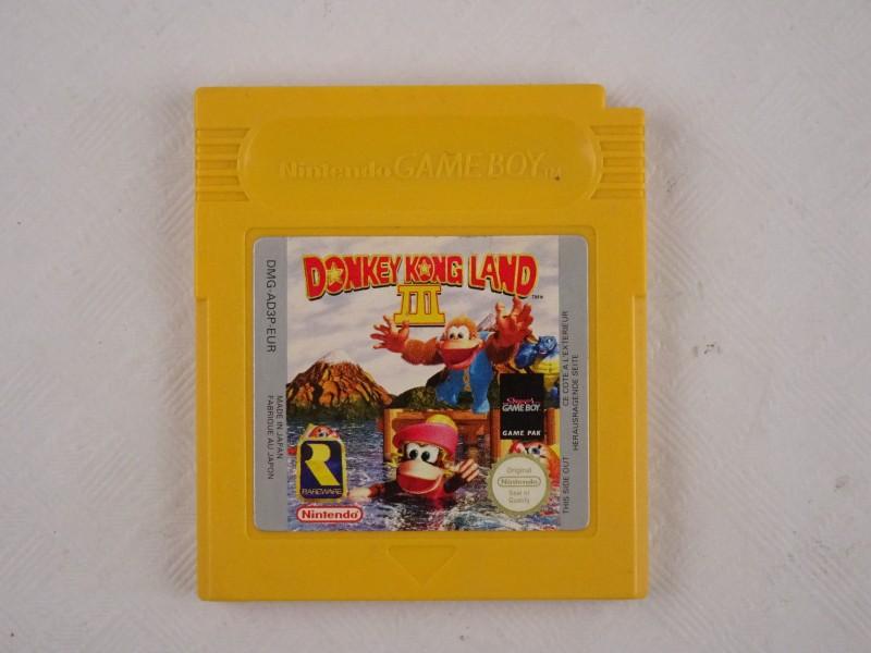 Donkey Kong Land 3 Nintendo Game Boy spel.