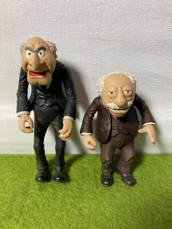 2 figuren uit The Muppets