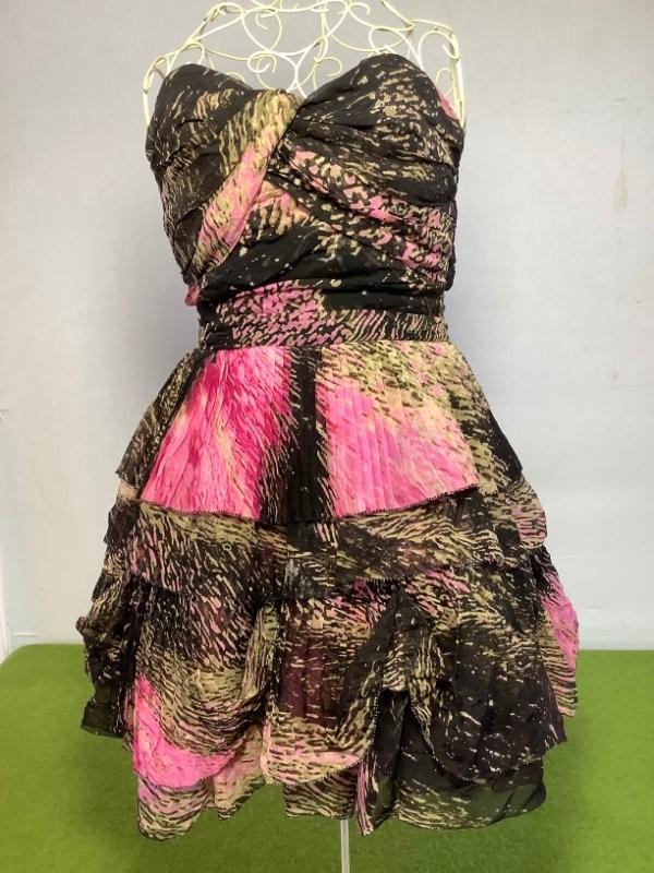 Roze kleedje Diane Von Furstenberg
