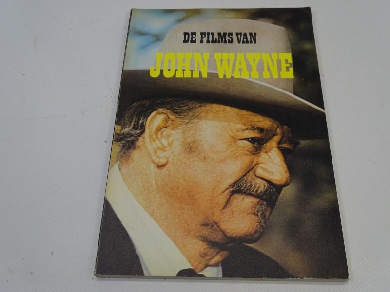Boek: De Films Van John Wayne, Scheldeman, 1979