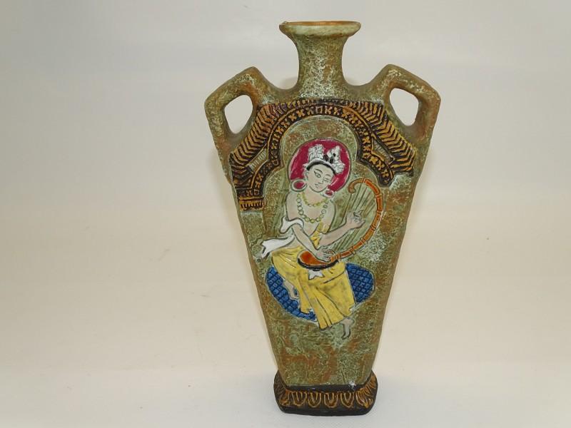 Kruik met Etruskische Tekening: Cucchi, Made in Italy