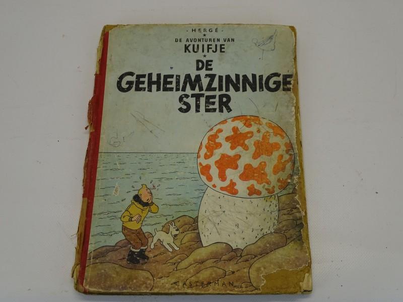 De Avonturen Van Kuifje: De Geheimzinnige Ster - Herdruk 1954