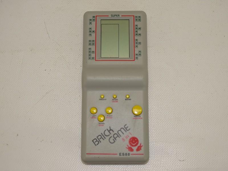 Werkend Spelcomputertje: ES88, Brick Game 8 in 1