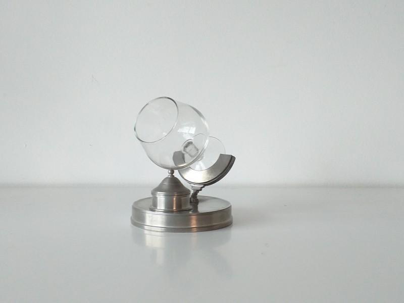 Cognacglas in houder
